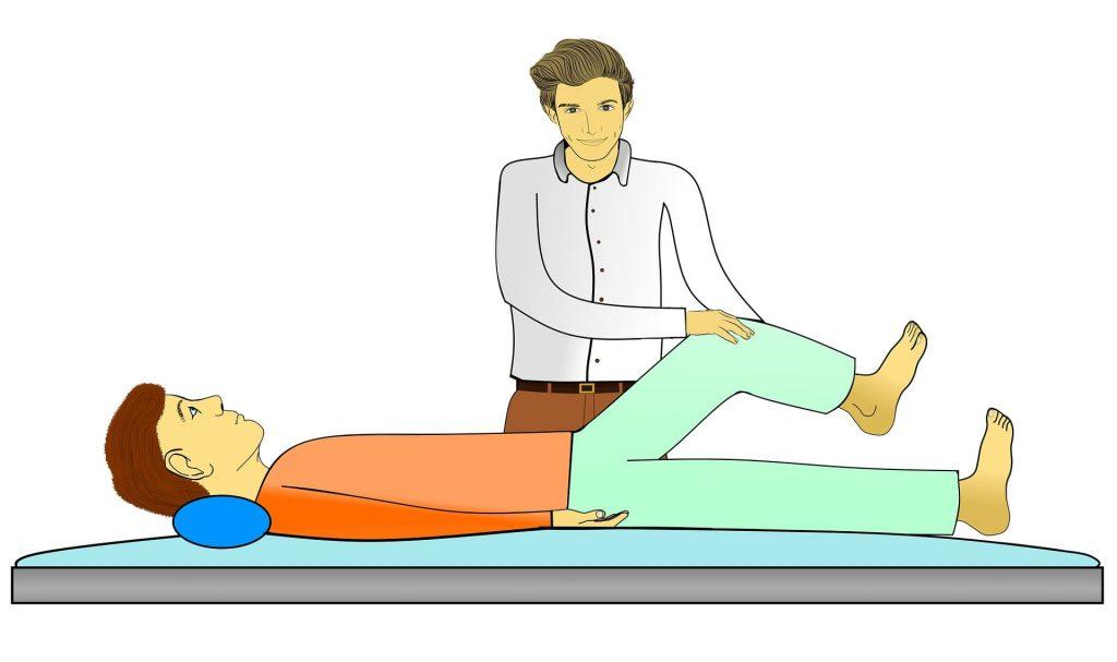 마사지 물리치료